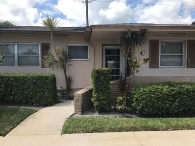 2533 Dudley Drive W UNIT C, West Palm Beach, FL 33415 - MLS#: RX-10511490
