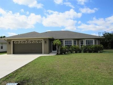 6220 NW Hacienda Lane, Port Saint Lucie, FL 34986 - MLS#: RX-10512980