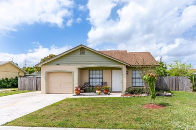 1387 Denlow Lane, Royal Palm Beach, FL 33411 - MLS#: RX-10514706