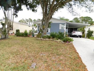 460 Tropical Isles Circle UNIT 41, Fort Pierce, FL 34982 - MLS#: RX-10515140