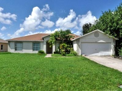 991 SW Jasper Avenue, Port Saint Lucie, FL 34953 - MLS#: RX-10515380