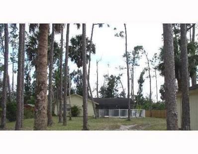 13706 24th Court N, Loxahatchee Groves, FL 33470 - #: RX-10516955