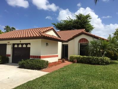 10938 Roebelini Palm Court UNIT B, Boynton Beach, FL 33437 - MLS#: RX-10517245