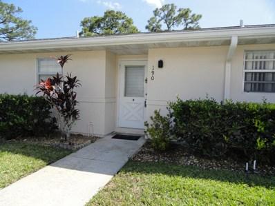 190 Cape Cod Circle, Lake Worth, FL 33467 - #: RX-10517947