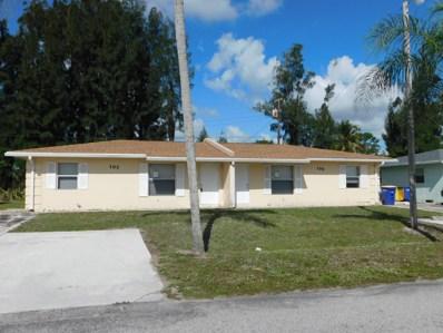 105 Westglen Drive, Fort Pierce, FL 34950 - MLS#: RX-10518116