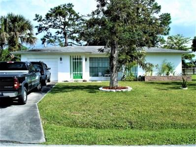 434 SE Tranquilla Avenue, Port Saint Lucie, FL 34983 - MLS#: RX-10518354