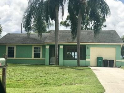 2825 SW Pierson Road, Port Saint Lucie, FL 34953 - #: RX-10520310