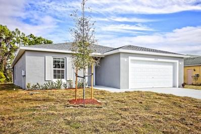 434 SW Laconic Avenue, Port Saint Lucie, FL 34953 - #: RX-10521509