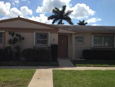 2532 E Dudley Drive UNIT C, West Palm Beach, FL 33415 - MLS#: RX-10521765