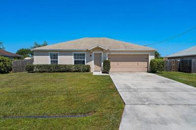 721 SW McCullough Avenue, Port Saint Lucie, FL 34953 - MLS#: RX-10522273