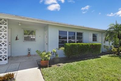 252 High Point Court W UNIT B, Delray Beach, FL 33445 - MLS#: RX-10525208