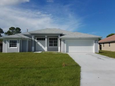 1031 SW Romaine Lane, Port Saint Lucie, FL 34953 - #: RX-10529984
