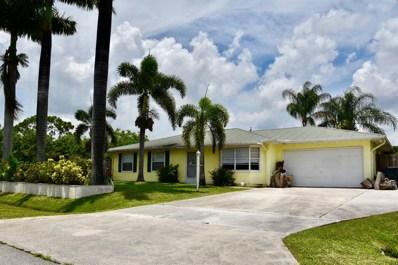 525 SW Buswell Avenue, Port Saint Lucie, FL 34953 - MLS#: RX-10530367