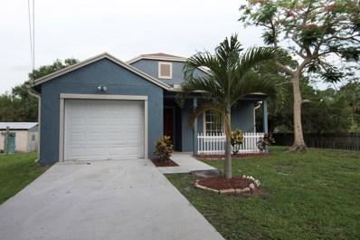 2870 Dame Road, Fort Pierce, FL 34981 - MLS#: RX-10530814