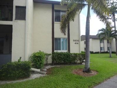 5830 Whispering Pine Way UNIT C-2, Greenacres, FL 33463 - MLS#: RX-10534577