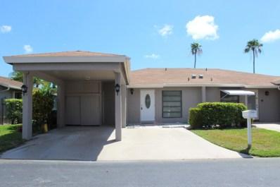 6667 Moonlit Drive UNIT 6667, Delray Beach, FL 33446 - MLS#: RX-10534991
