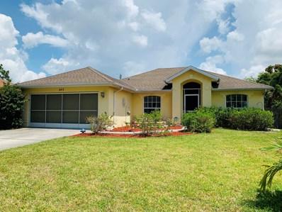 643 SW Ray Avenue, Port Saint Lucie, FL 34983 - MLS#: RX-10535106