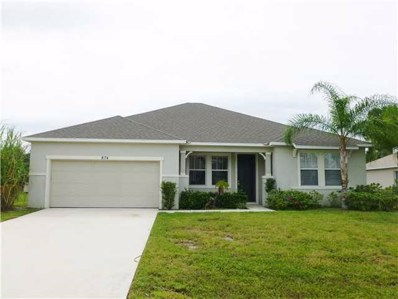 874 SW Commonwealth Road, Port Saint Lucie, FL 34953 - #: RX-10536016