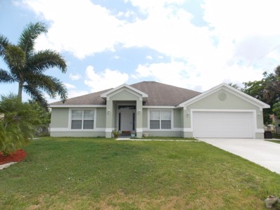 956 SW Cleary Terrace, Port Saint Lucie, FL 34953 - #: RX-10536678
