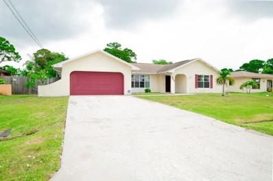 549 SE Thornhill Drive, Port Saint Lucie, FL 34983 - #: RX-10537656