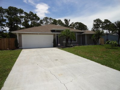 1737 SE Aneci Street, Port Saint Lucie, FL 34983 - #: RX-10537775