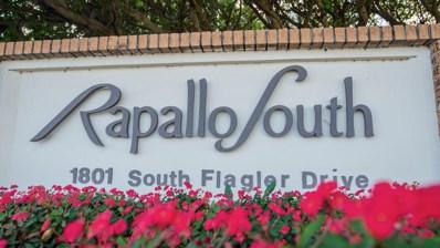 1801 S Flagler Drive UNIT 101, West Palm Beach, FL 33401 - MLS#: RX-10538140