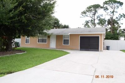 1271 SW Porter Road, Port Saint Lucie, FL 34953 - #: RX-10538143