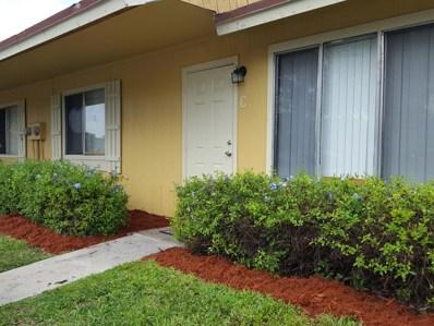 4667 Orleans Court UNIT C, West Palm Beach, FL 33415 - #: RX-10542900