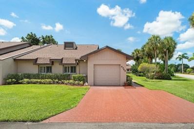 4722 Fountains Drive S, Lake Worth, FL 33467 - #: RX-10544004