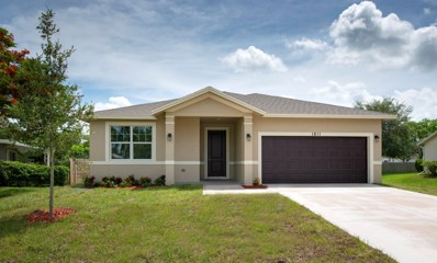 1811 SE Aires Lane, Port Saint Lucie, FL 34984 - #: RX-10547767