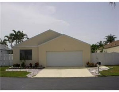 60 Buxton Lane, Boynton Beach, FL 33426 - #: RX-10549936