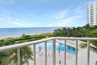 550 S Ocean Boulevard UNIT 408, Boca Raton, FL 33432 - #: RX-10553789