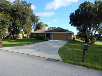 855 SW Sultan Drive, Port Saint Lucie, FL 34953 - MLS#: RX-10556987