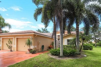 43 Sausalito Drive, Boynton Beach, FL 33436 - MLS#: RX-10557148