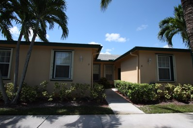 3158 Via Poinciana UNIT 7, Lake Worth, FL 33467 - MLS#: RX-10559184