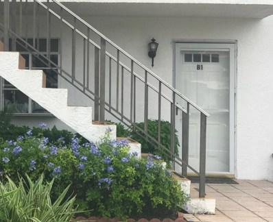 134 Lakes End Drive UNIT B1, Fort Pierce, FL 34982 - MLS#: RX-10563340