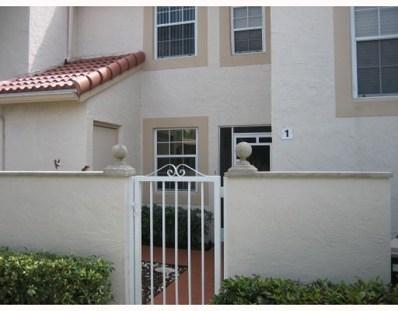 14311 Via Royale UNIT 1, Delray Beach, FL 33446 - #: RX-10567751