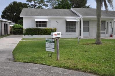 203 Anglers Circle, Jupiter, FL 33458 - MLS#: RX-10574781