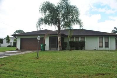2409 SW Avondale Street, Port Saint Lucie, FL 34984 - #: RX-10575282