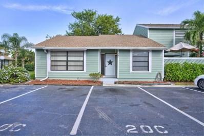 706 Stonewood Court UNIT 18c, Jupiter, FL 33458 - MLS#: RX-10576788