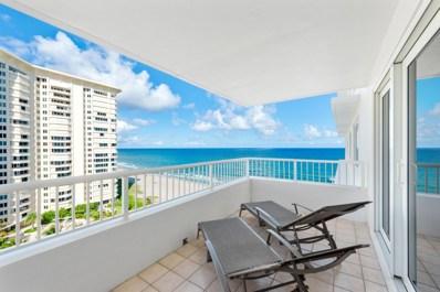 600 S Ocean Boulevard UNIT 1107, Boca Raton, FL 33432 - MLS#: RX-10578085