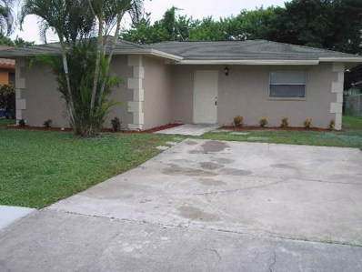 1017 W 7th Street, Riviera Beach, FL 33404 - MLS#: RX-10580016