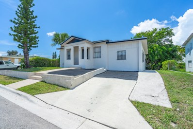 917 W 7th Street, Riviera Beach, FL 33404 - MLS#: RX-10582095