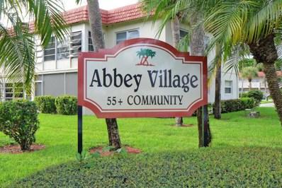 33 Abbey Lane UNIT 105, Delray Beach, FL 33446 - MLS#: RX-10584793