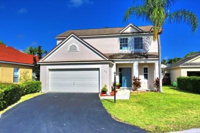52 Egret Way, Boynton Beach, FL 33436 - #: RX-10586582