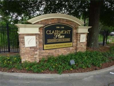 1800 Clairmont Lk UNIT 206, Decatur, GA 30033 - MLS#: 5982368