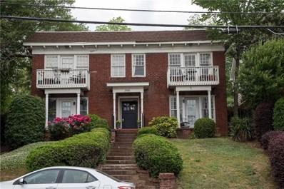 706 Charles Allen Dr NE UNIT A, Atlanta, GA 30308 - MLS#: 6013869