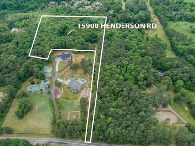 15900 Henderson Rd, Milton, GA 30004 - MLS#: 6017071