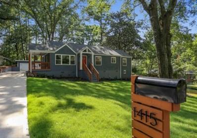 1415 Carter Rd, Decatur, GA 30030 - MLS#: 6042705