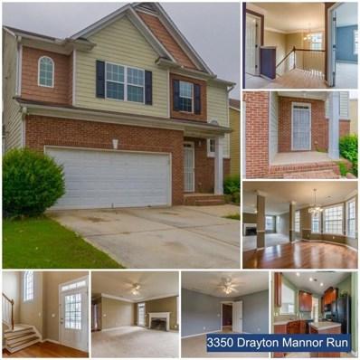 3350 Drayton Manor Run, Lawrenceville, GA 30046 - MLS#: 6057624